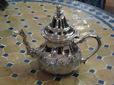 Moroccan teapot - Moroccan tea pot - Moroccan silver teapot -Moroccan Tea set