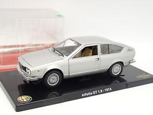Leo-Models-1-24-Alfa-Romeo-Alfetta-GT-1-8-1974-Grise