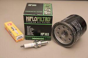 Tune Up Kit Air Filter Oil Filter Spark Plug for Kawasaki Prairie 400 KVF