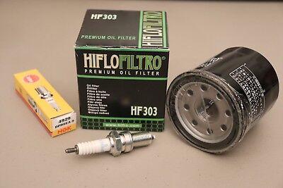 Kawasaki Prairie 400 KVF Tune Up Kit Spark Plug /& Oil Filter KVF400 4x4 2x4