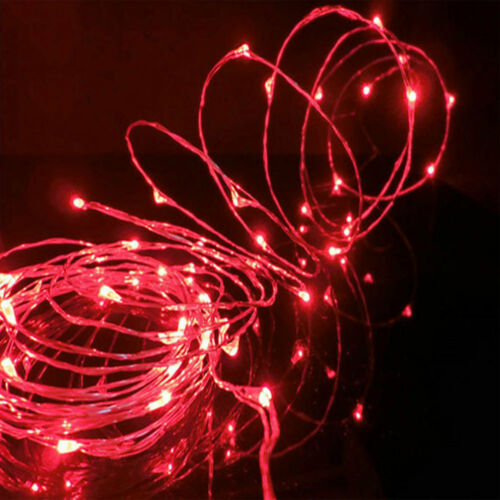 20//30//50//100 LED Battery Power Operated String Fairy Lights Christmas Xmas Party