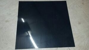 "BLACK POLYETHYLENE HDPE PLASTIC SHEETS 1/4"" YOU PICK THE SIZE - VACUUM FORMING"