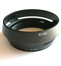 METAL LENS HOOD FOR FUJI FINEPIX X100 X100S REPLACEMENT FOR LH-X100