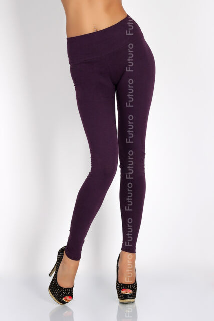 Full Length High Waist Leggings Genuine Cotton and Lycra All Sizes & Color lwp