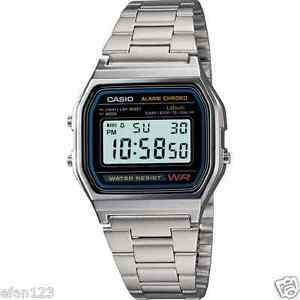 A158WA-1D-CASIO-DIGITAL-SILVER-VINTAGE-RETRO-STAINLESS-STEEL-BAND-WATCH-A-158WA