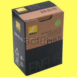 Genuine-Nikon-EN-EL15-Battery-ENEL15-for-D7000-D800-Nikon-1-V1-Authentic-Real