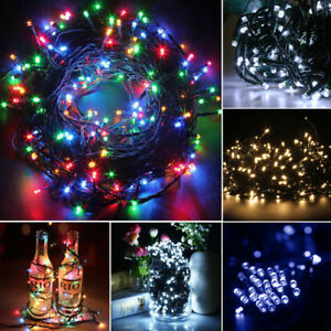 Electric Mains 200 400 Led Garden Party Xmas String Fairy