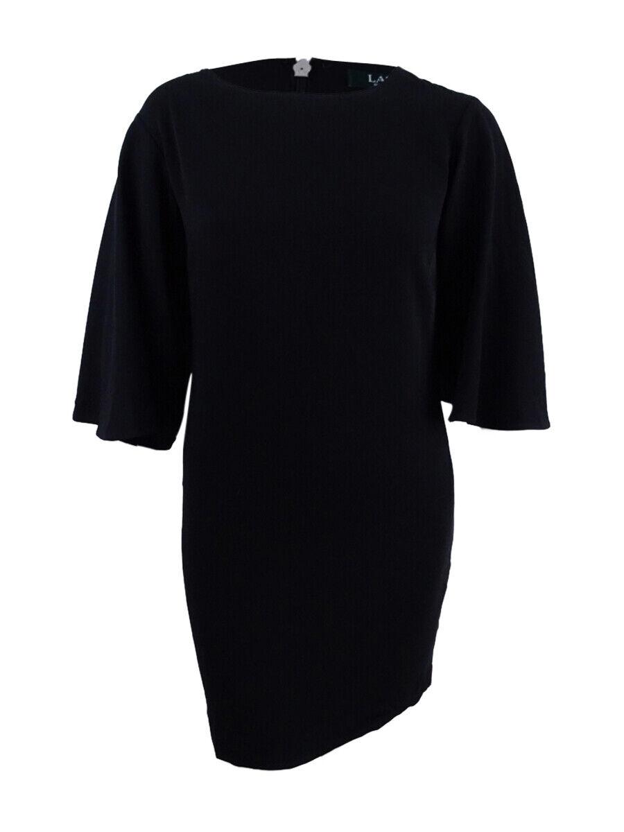 Lauren by Ralph Lauren Women's Bell-Sleeve Shift Dress