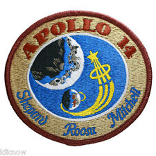 Apollo 14 Mission Embroidered Patch (Official Patch) 10cm Dia approx