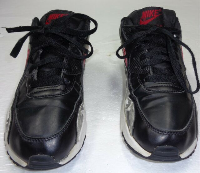 Nike Boys' Air Max 90 Print Leather Running Sneakers from Finish Line