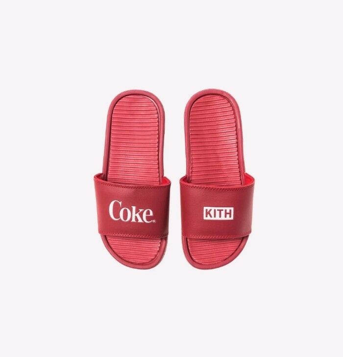 KITH X COCA-COLA CHANCLETAS RED - SIZE 11 11 11 - IN HAND bc34c5