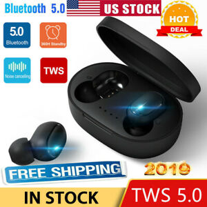 For-Xiaomi-Redmi-TWS-Airdots-Headset-Bluetooth-5-0-Headphone-Stereo-Earbuds-UA