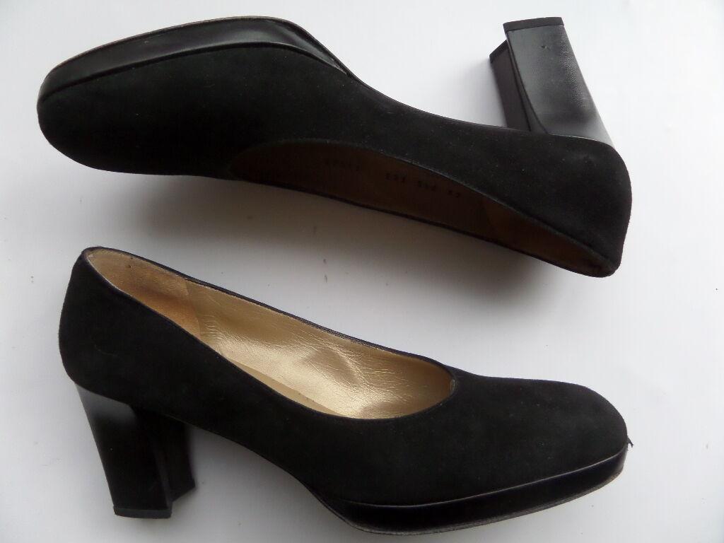comodamente St.John Leather 3-in Heels scarpe Dimensione-9.5 AA nero nero nero Made in   prezzo più economico
