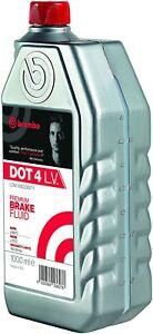 Brembo-Liquido-de-Frenos-DOT-4-LV-Envase-1-Litro-Premiun-Coche-y-Moto