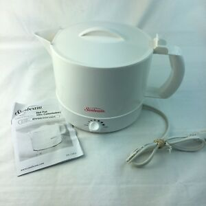 Electric-Hot-Pot-Tea-Kettle-Sunbeam-BVSBWH1001-White-Bar-Tea-Coffee-Water