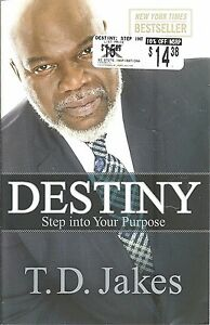 Details about Destiny NEW T D  Jakes NEW Paperback CHRISTIAN LIVING  Religious BOOK Inspiration