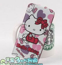 Lovely Hello Kitty Leather Pouch Case Cover for Apple iPhone 5
