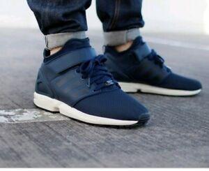 Dettagli su Da Uomo Navy Blue ADIDAS ZX FLUX NPS MID Sneaker Stivali Scarpe Taglia 7 EU 40 23 mostra il titolo originale