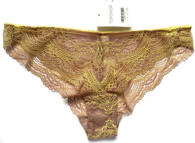 Brazilian Knickers Topshop UK 6 Lace for sale online  9a28e267e