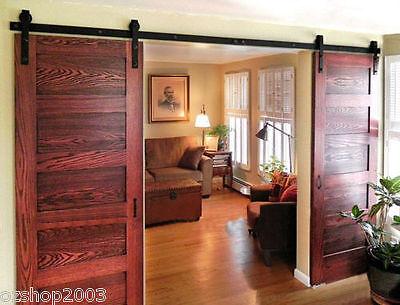 3.6M  Sliding Door Barn Door hardware For double doors(B02)