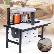 Wood Edge Banding Machine Edgebander Woodworking Gluing Machine Set 15w 10 60mm