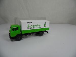 sw1788-WIKING-Siemens-Werbemodell-LKW-MB-LP-814-i-C-Handwerk-1-87-BOX-mint-Neuw