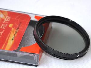 100% De Qualité 52mm Cpl Circular Polarizing C-pl Lens Filter For Canon Nikon Slr Camera
