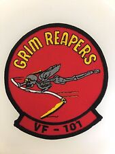 America U.S. Navy Aviation VF-101 'The Grim Reapers' cloth embroidered patch
