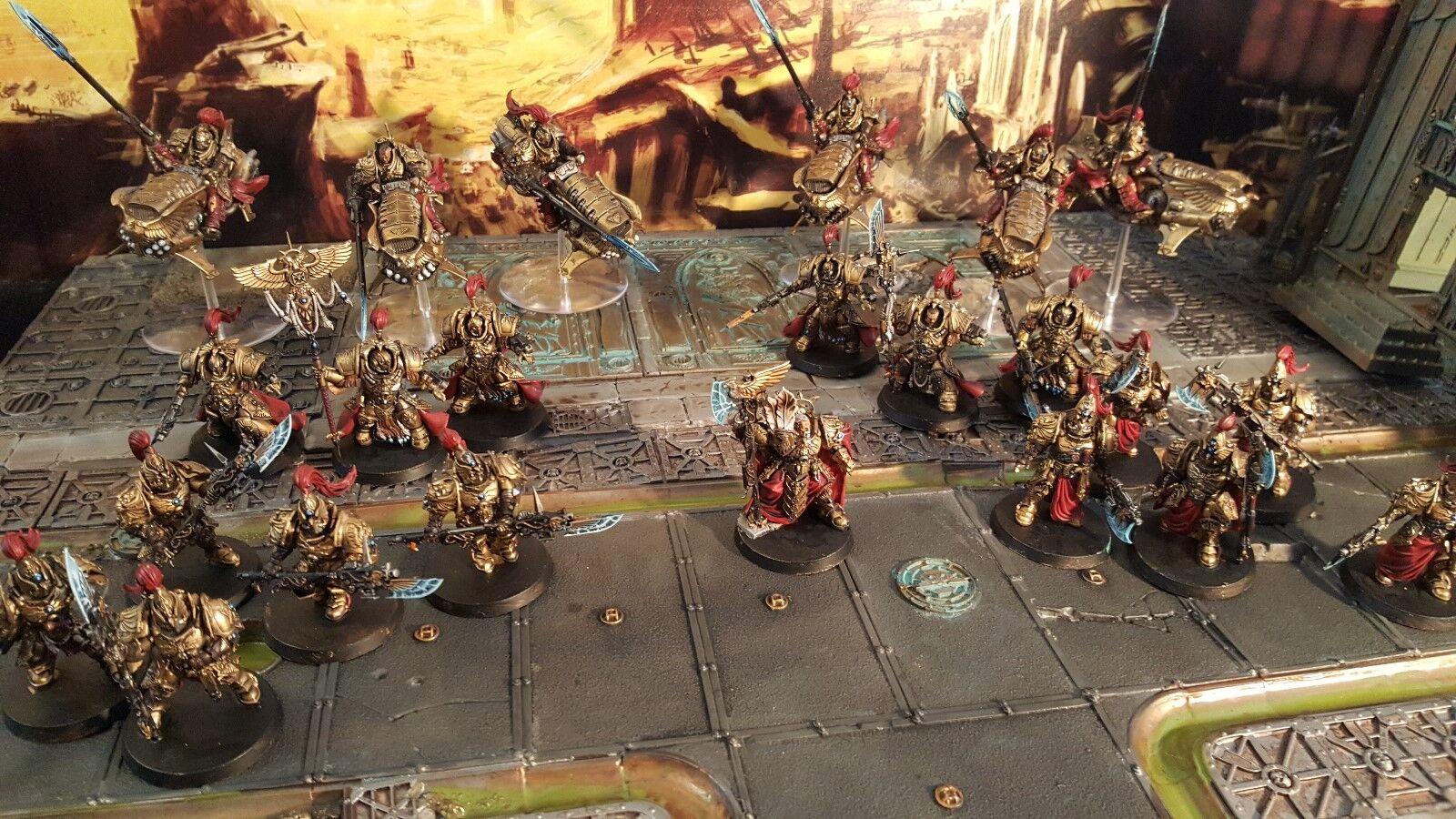 Warhammer 40000 40k Legio vigila Ejército Pro pintado de 2000 puntos.