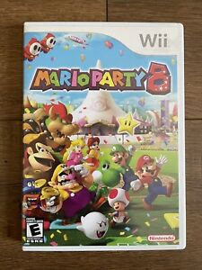 Mario Party 8 (Nintendo Wii, 2007) Complete w/ Manual CIB *Fast Shipping⚡️