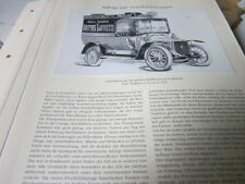 Nutzfahrzeug Archiv 5 Alltag 5313 Panhard Levassor 1913 Galeries Lafayette