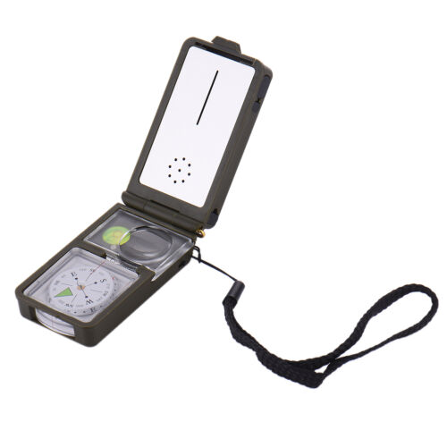 10 in 1 Multifunction Outdoor Survival  Compass Tool Kit Hiking Camping