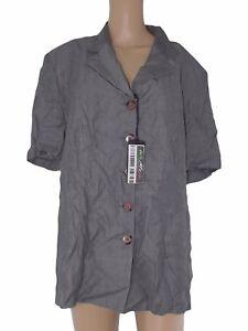 giacca-donna-grigio-viscosa-manica-corta-taglia-it-51-xxl-extra-large