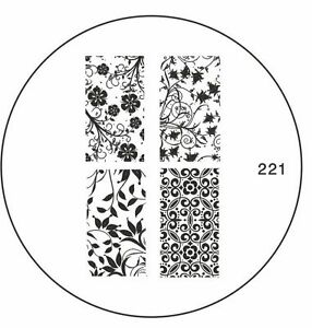 MoYou-Nails-Image-Plate-221-Nail-Art-Stamping-Template-Stencil-Manicure-design