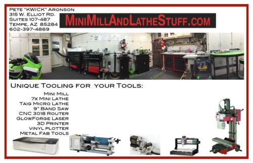 ER16 Mini Mill Lathe CNC Router Collet Holder Kit
