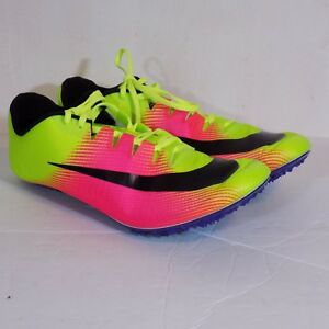 479ca9eff91b Nike Mens Zoom JA FLY 3 OC Rio Track   Field Spikes Volt 882032-999 ...