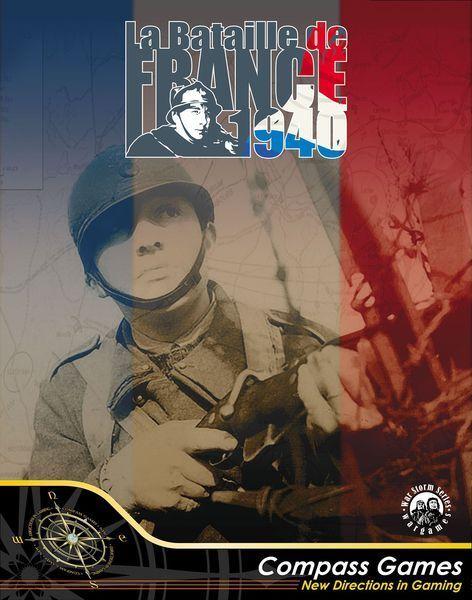 La BaGröße de France 1940 - Compass Games - New in Shrink