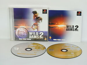 WILD-ARMS-2nd-IGNITION-PSone-Books-PS1-Playstation-Japan-p1