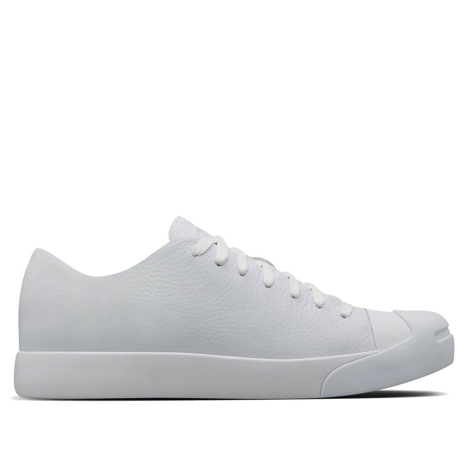 NIB  180 Converse X NikeLab Jack Purcell Modern HTM Ox White 155019C US Mens12.5