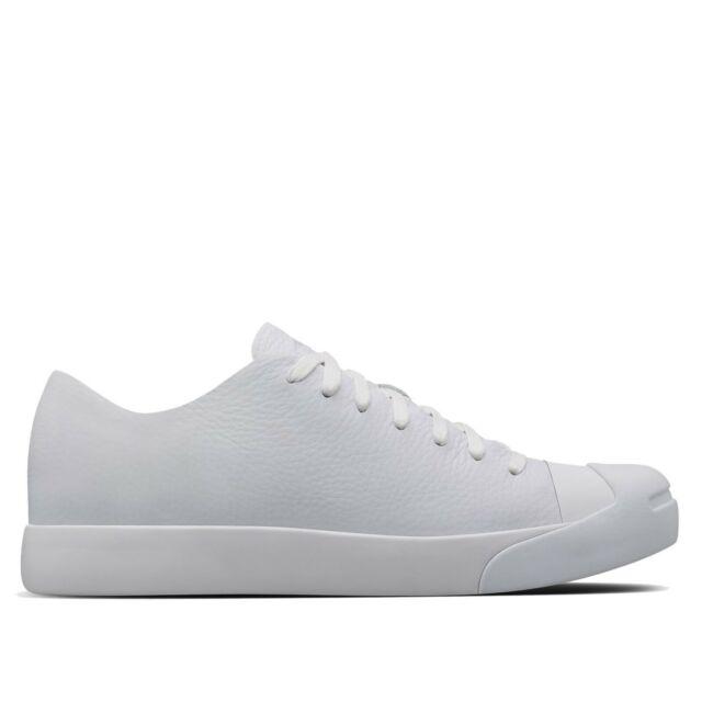 405fc4f33f5 NIB  180 Converse X NikeLab Jack Purcell Modern HTM Ox White 155019C US  Mens 9.5