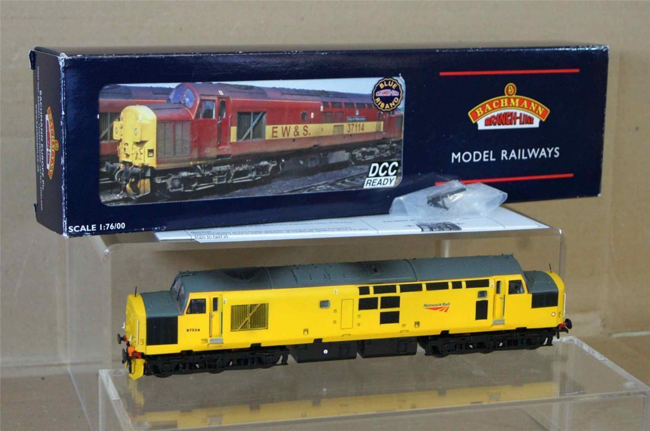 Bachmann 32-780 Kit Montado Network Rail Clase 37 0 Loco 97304 Mint DCC Mv