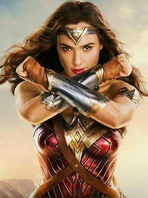 Wonder Woman Movie Gal Gadot Poster 18 X 24 New Ebay