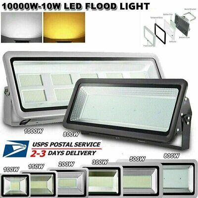 LED Flood Light 800W 500W 200W 150W 100W Watt Outdoor Lighting Fixtures US ⭐⭐⭐⭐⭐