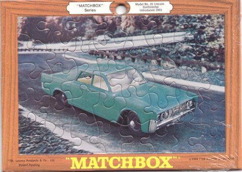 Matchbox RW Puzzle Nr. 31C Lincoln Continental 1969 USA USA USA  | Neuer Stil  4b22f8