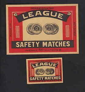Ancienne étiquette Allumette Belgique Bn8037 League 8xyvmhif-08012208-481670961