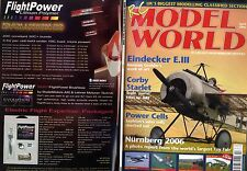 RADIO CONTROL MODEL WORLD MAGAZINE 2006 APR 1919 UILD-MARSHONET FREE PLAN
