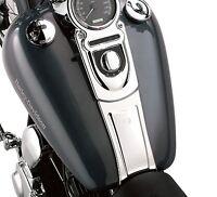 Harley Davidson Chrome Gas Tank Dash Panel Extension- Dyna Wide Glide Fatbob