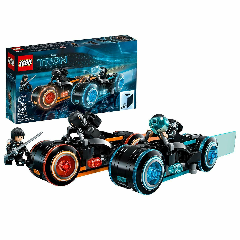 LEGO TRON LEGACY IDEAS 21314  NEW & SEALED RETIrot SET - WORLDWIDE SHIPPING