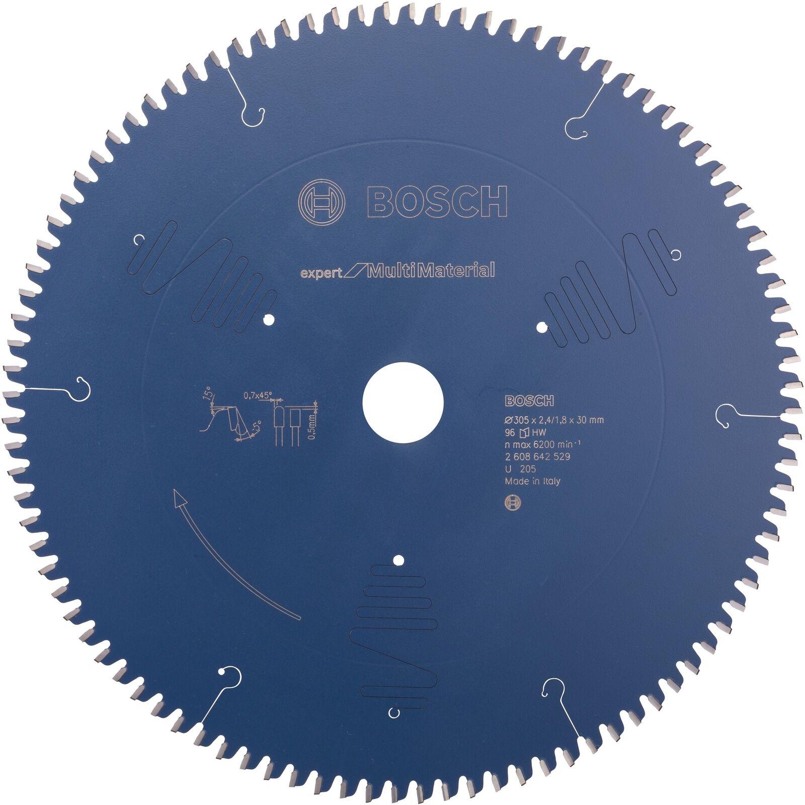 Bosch Professional Kreissägeblatt Expert for Multi Material, 305mm, Sägeblatt