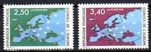 France-1991-timbres-de-service-Yvert-n-106-et-107-neuf-1er-choix